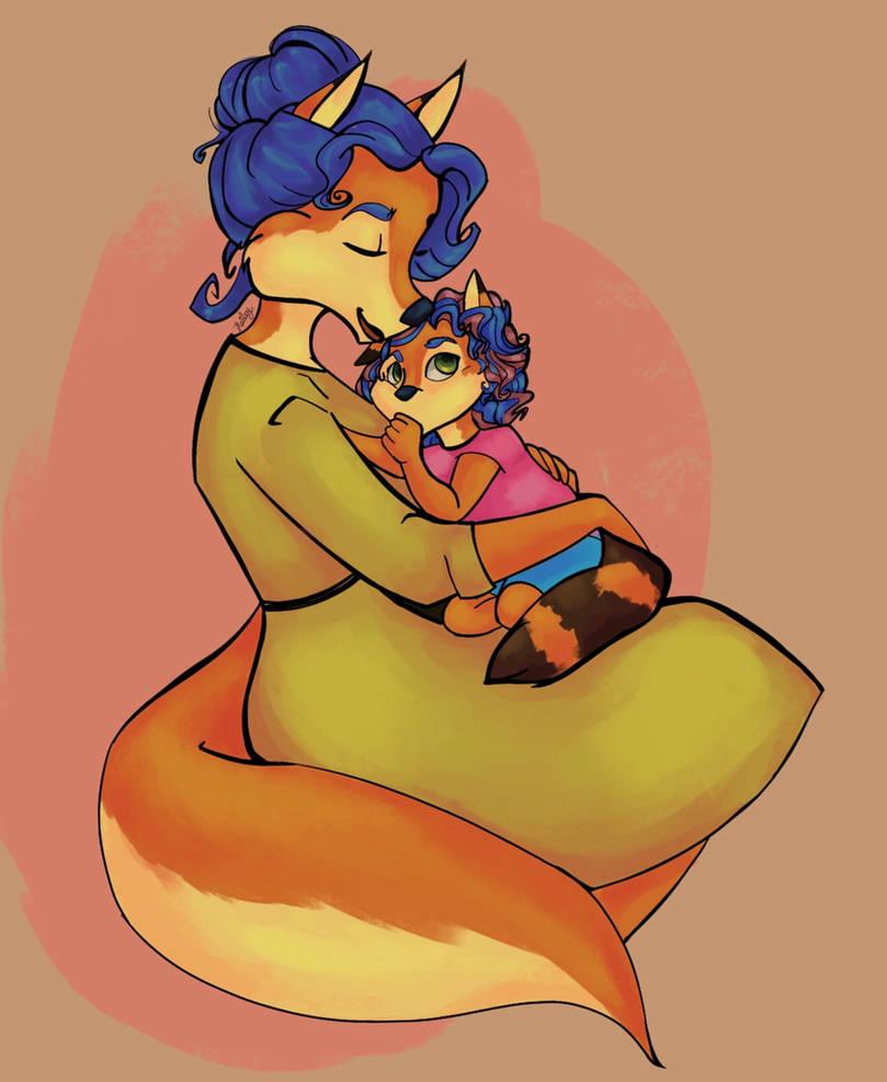 Mommy loves you, Callista by Belkasky
