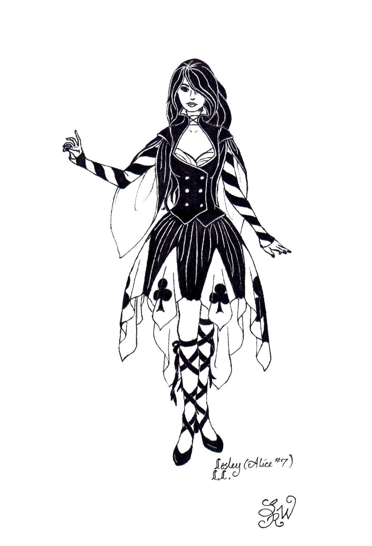 Dark Wonderland: Lesley by EllaNyx
