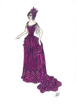 Commission:Burtonesque Prom I