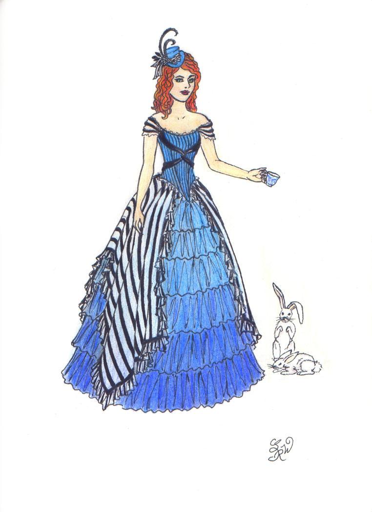 Commission:Burtonesque Prom II by EllaNyx