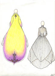 StarWarsWedding:Robe+DressBack