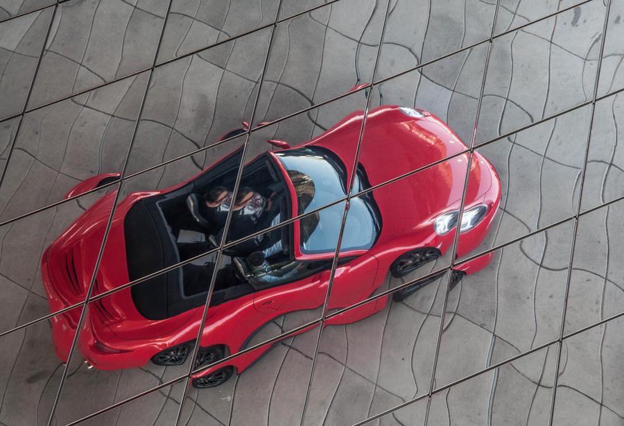 Porsche Illusion by Sudlice