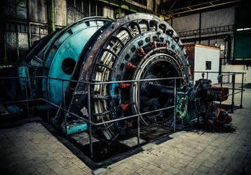 Mining Machine by Sudlice