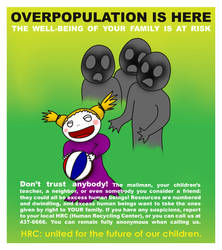 HRC poster by BazookaNinja