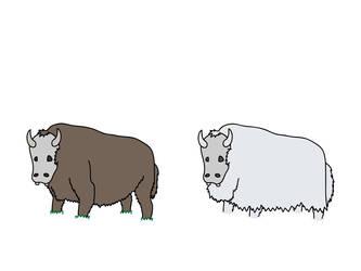 Buffalo-esque creature by BazookaNinja