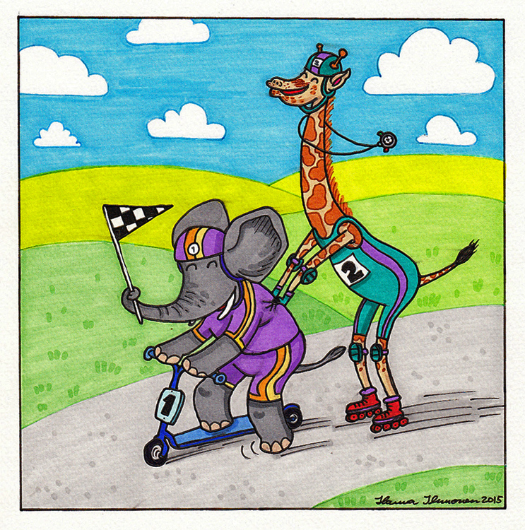 Race Day by HannaV