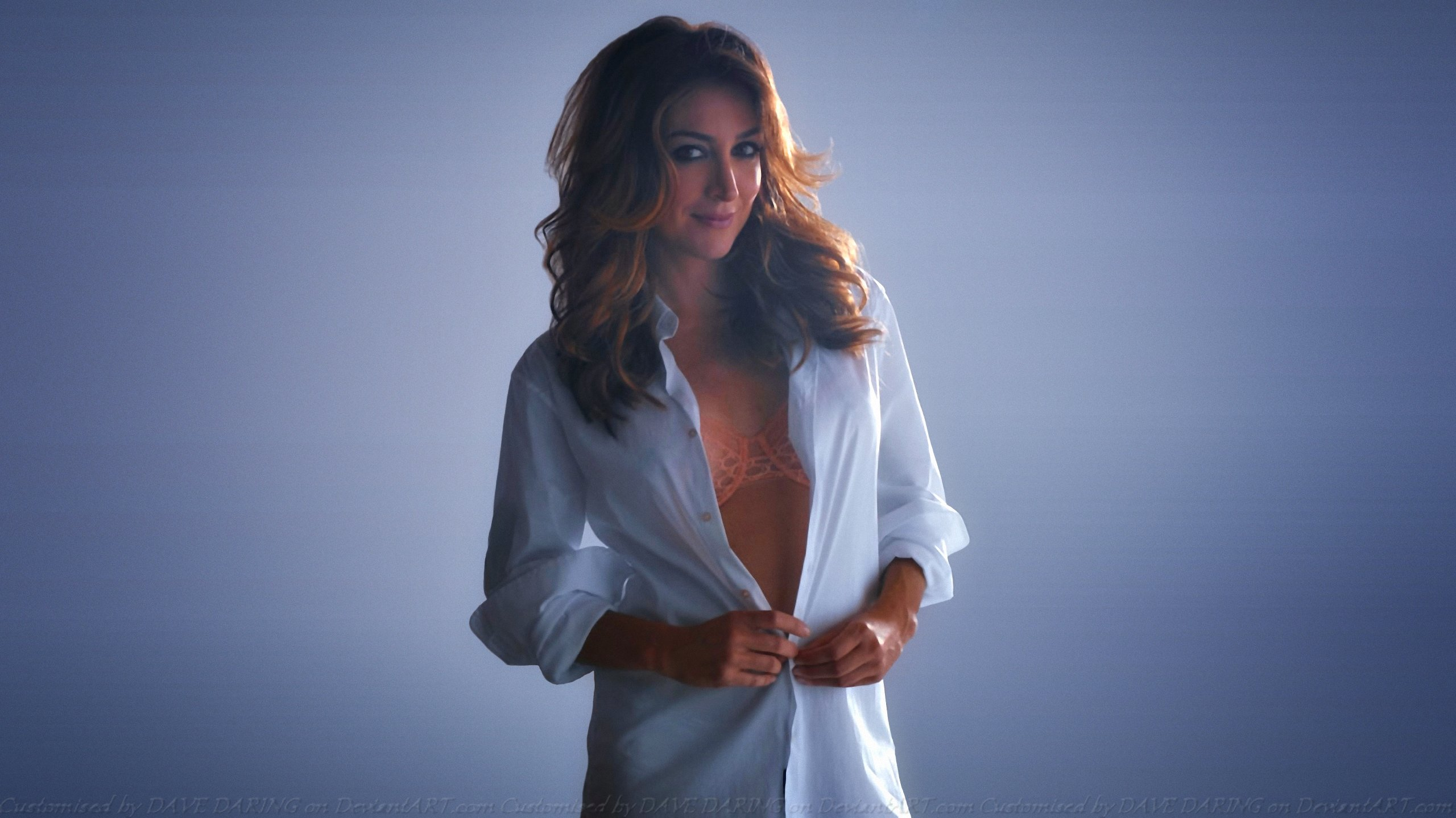 Sasha Alexander Wallpaper by Dave-Daring