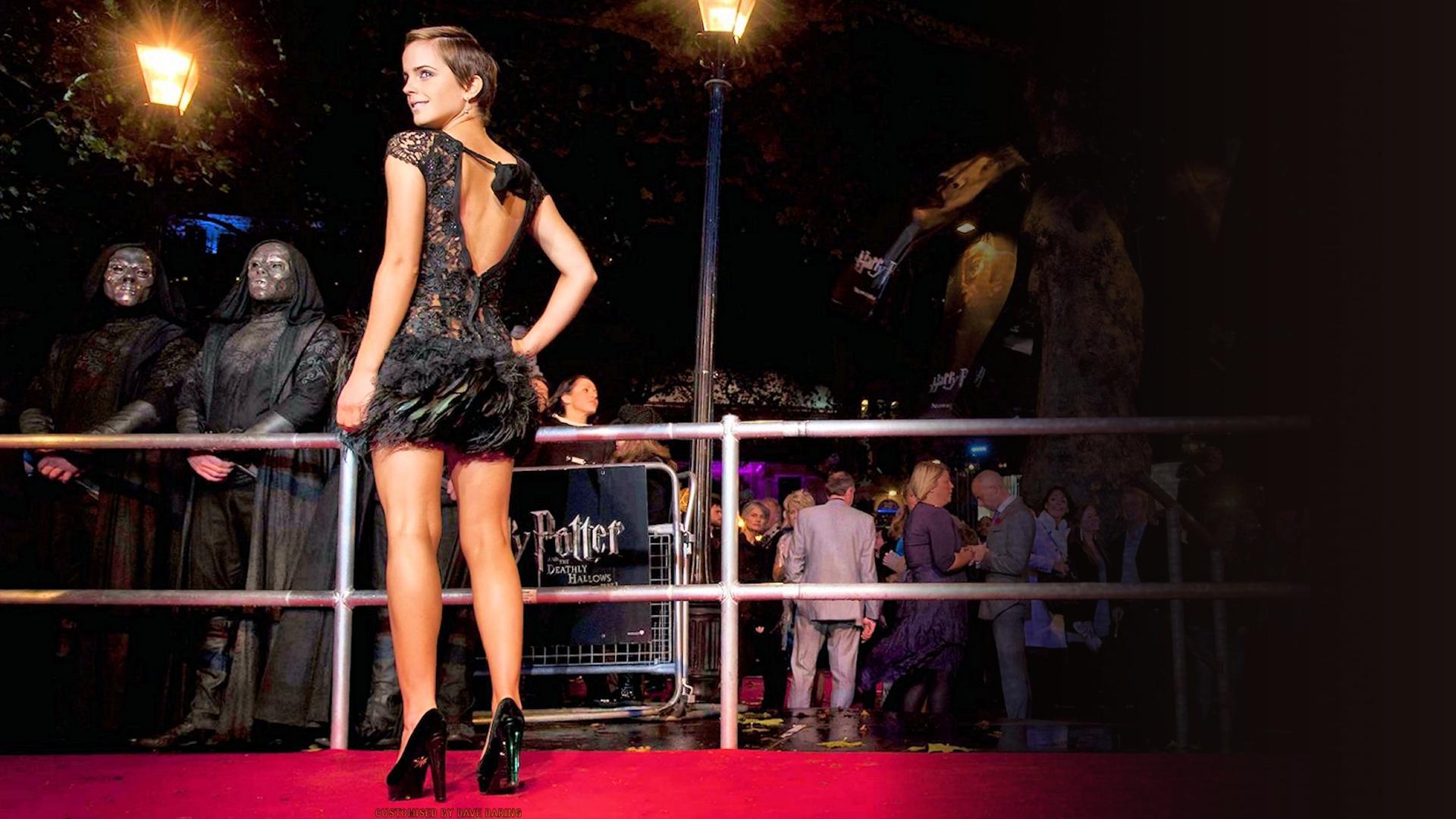 Emma Watson premier by Dave-Daring