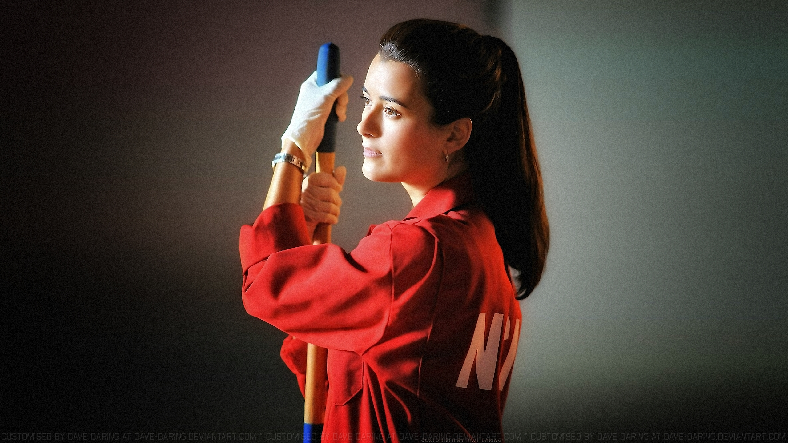 Cote De Pablo Ziva In Ncis Red By Dave Daring On Deviantart