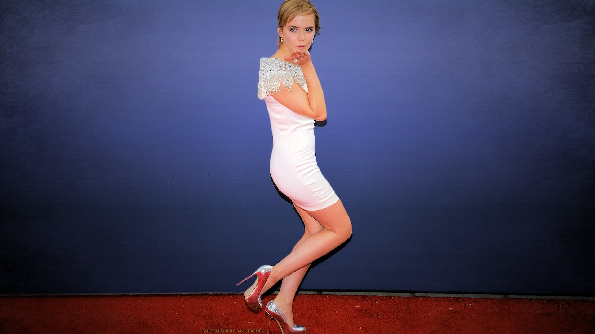 Emma Watson yet more Leggyness by Dave-Daring