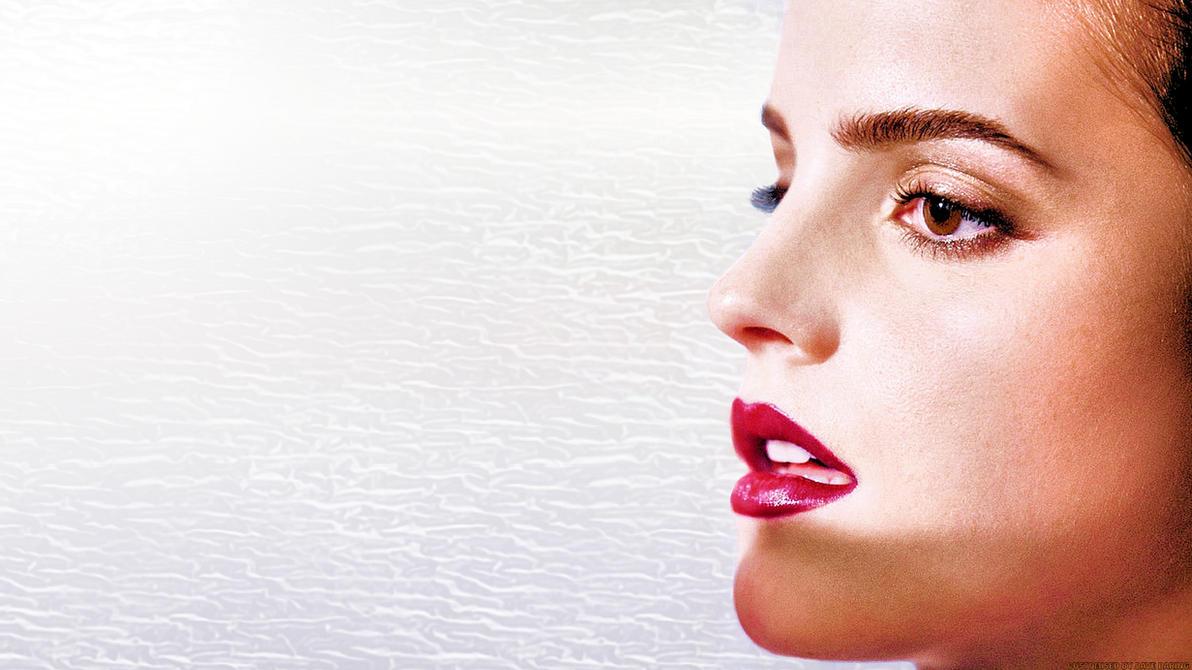 Emma Watson Lips by Dave-Daring