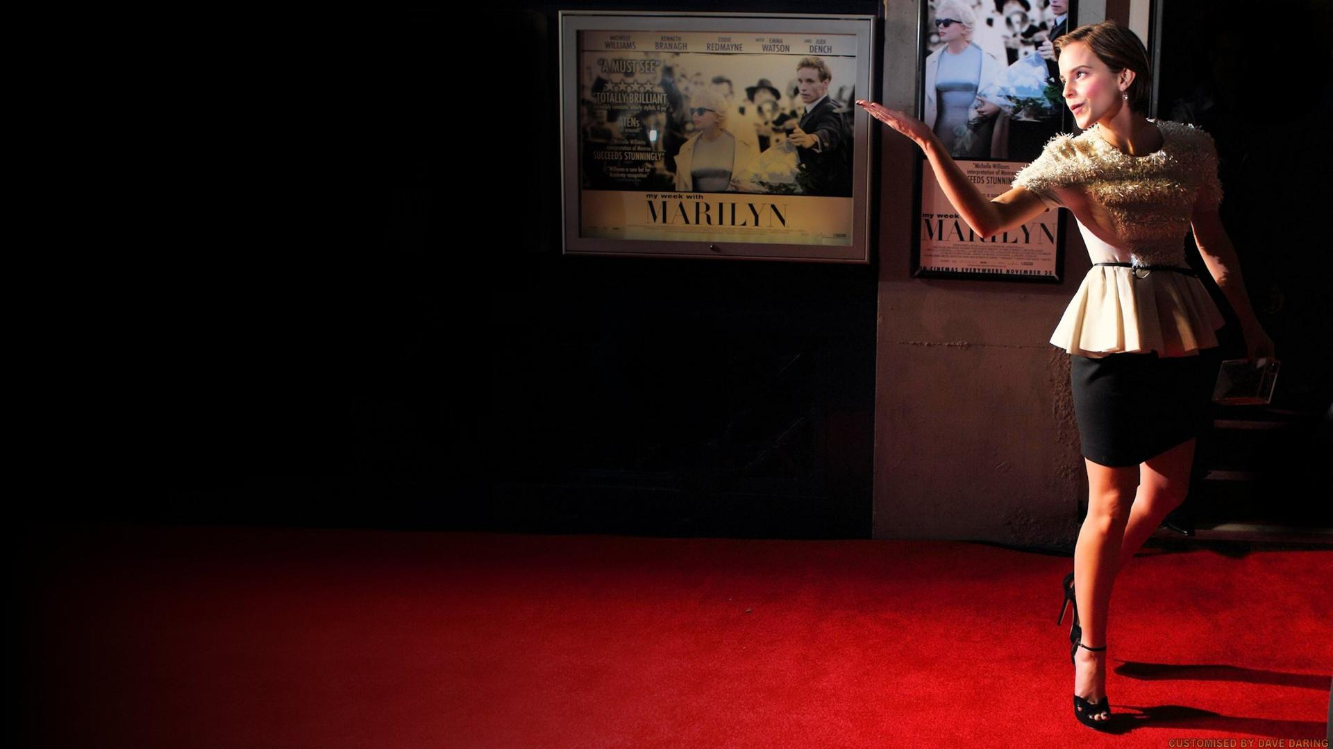 Emma Watson My Week with Marilyn by Dave-Daring
