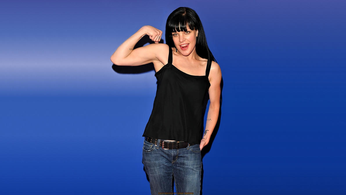 Pauley Perrette Muscles! by Dave-Daring