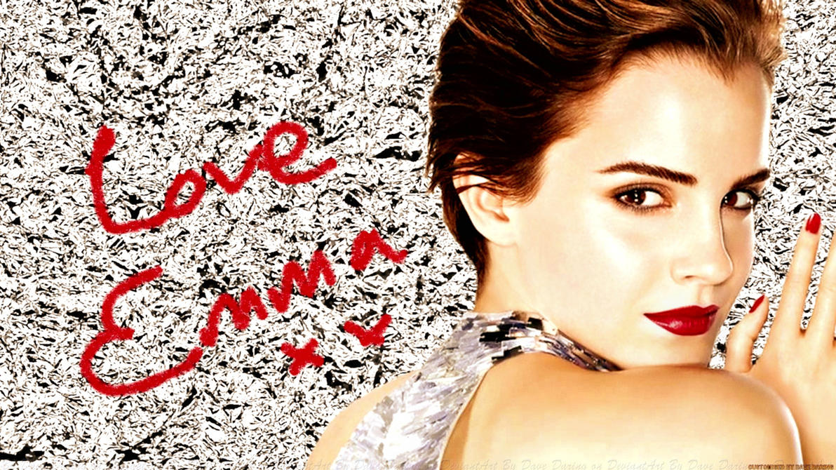 Emma Watson Love Emma by Dave-Daring