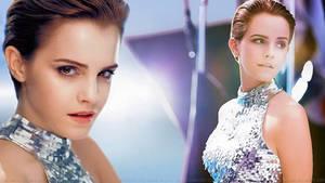 Emma Watson Twice as Nice