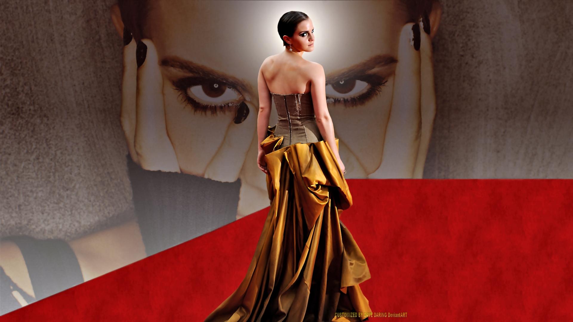 Emma Watson Eyes by Dave-Daring