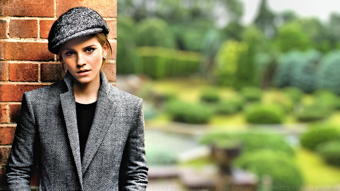 Emma Watson Garden by Dave-Daring