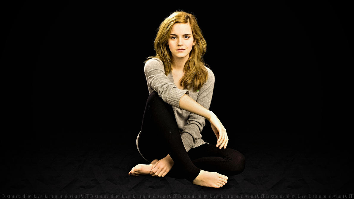 Emma Watson Floor V2 by Dave-Daring