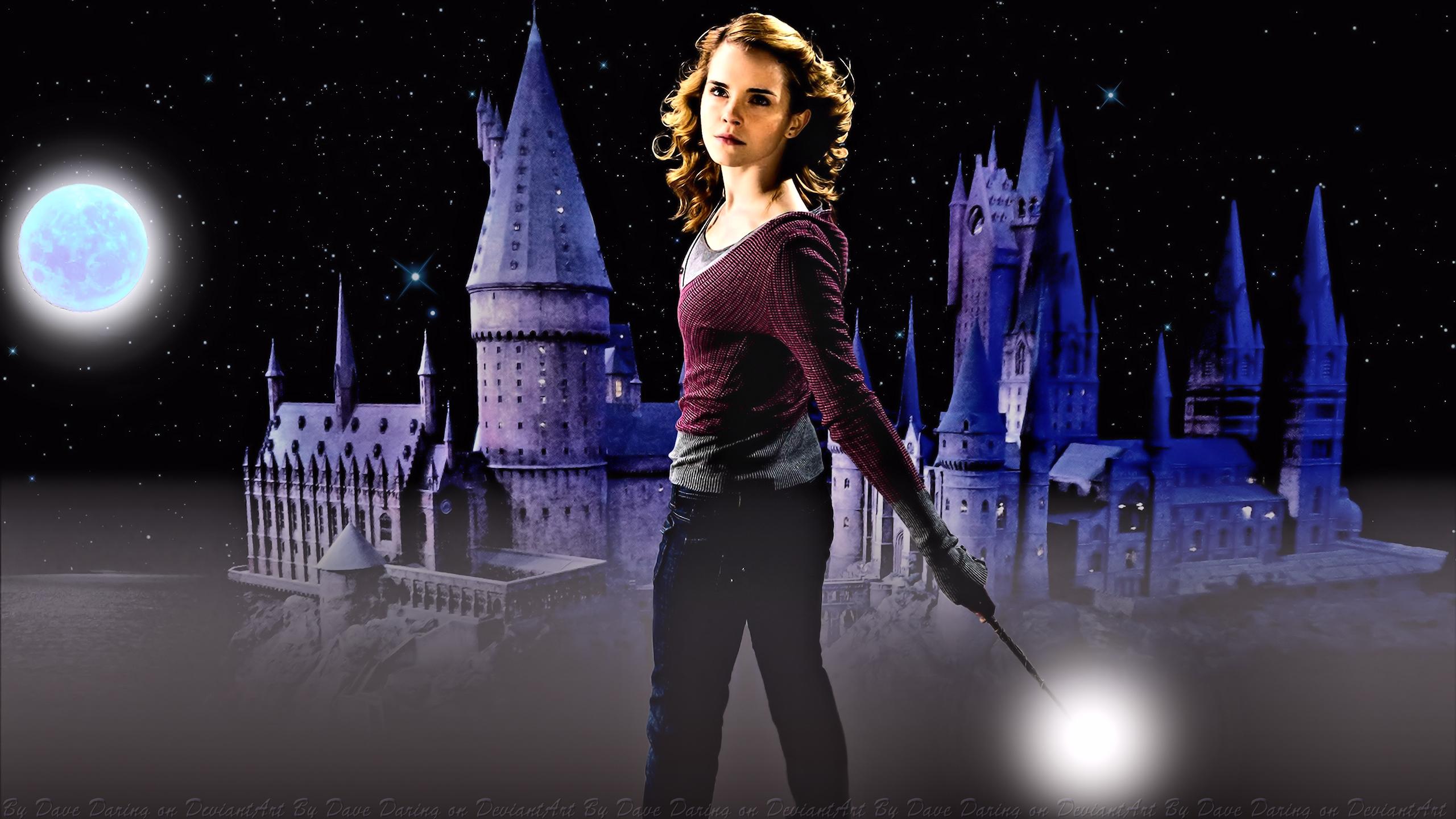 Emma Watson Hogwarts Defender IV by Dave-Daring
