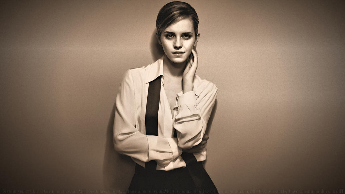 Emma Watson Screen Queen by Dave-Daring