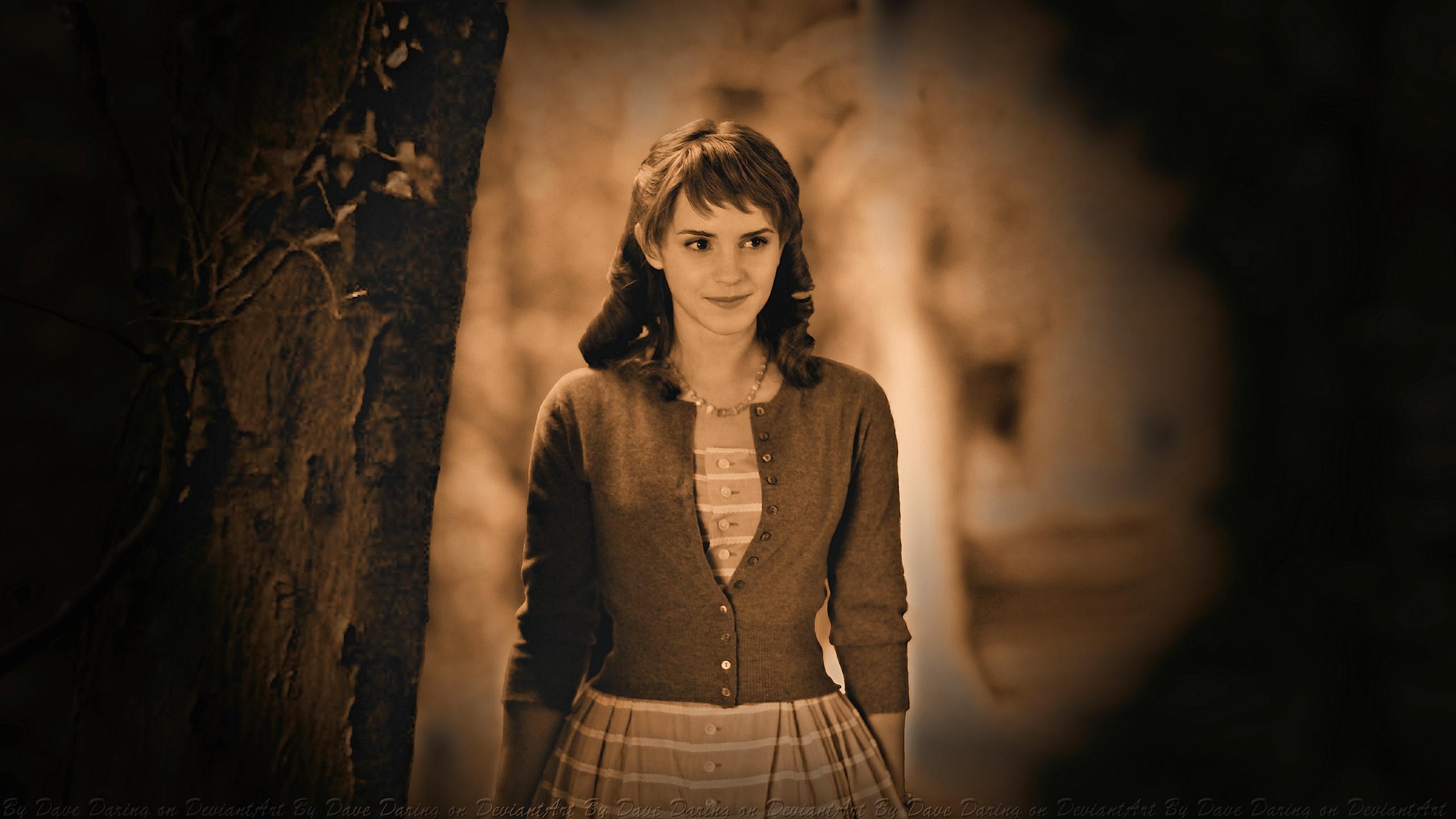 Emma Watson Silent Era by Dave-Daring