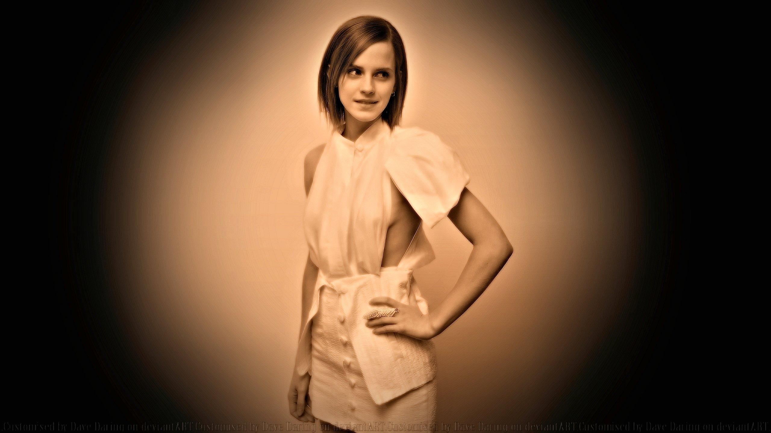 Emma Watson Wallflower NY Vintage by Dave-Daring