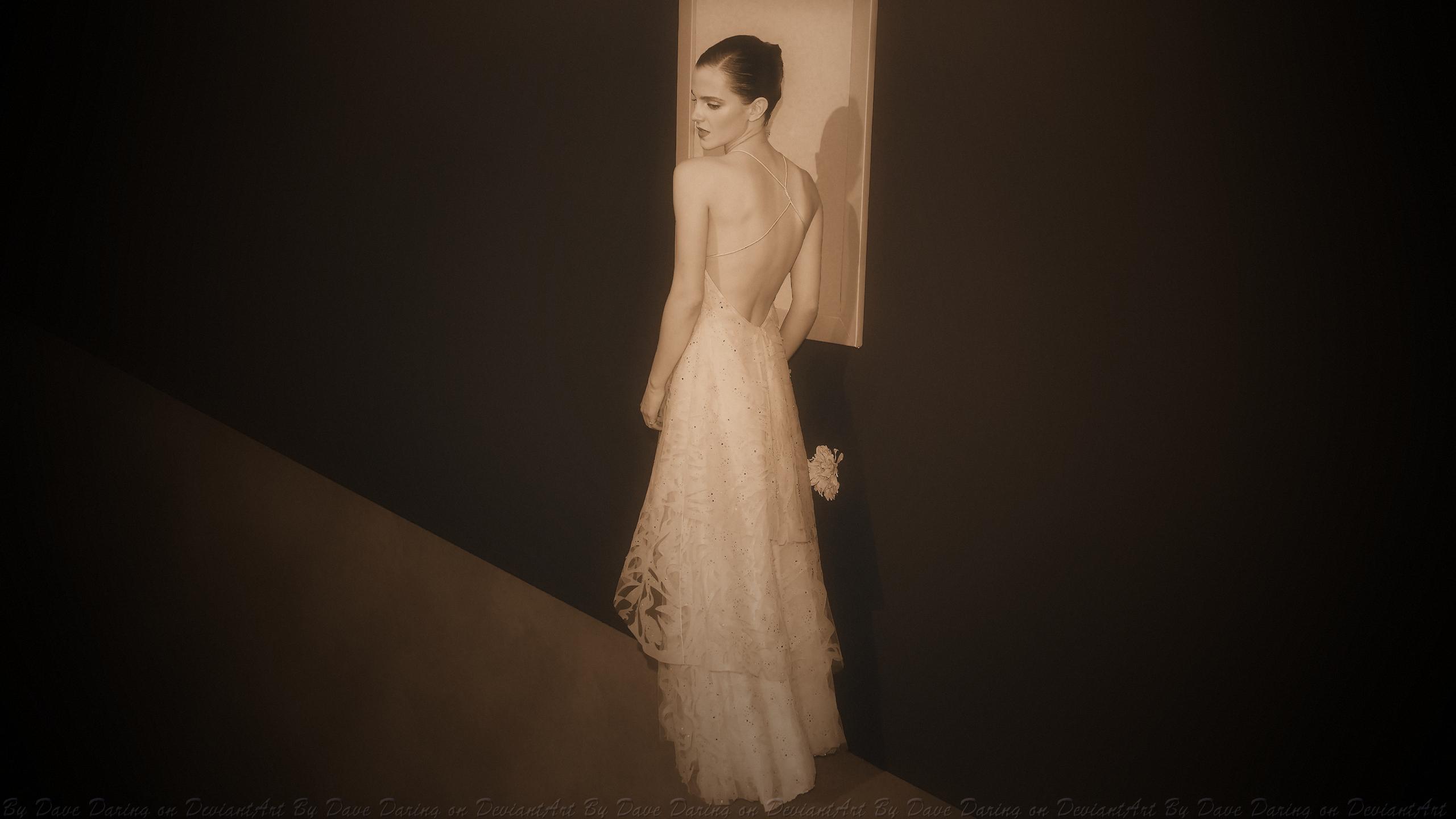 Emma Watson Vintage Wallflower by Dave-Daring