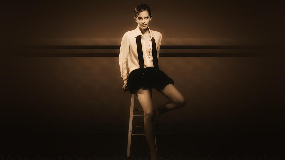 Emma Watson Glamour Glow by Dave-Daring