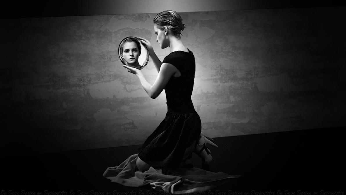 Emma Watson Mirror Mirror by Dave-Daring