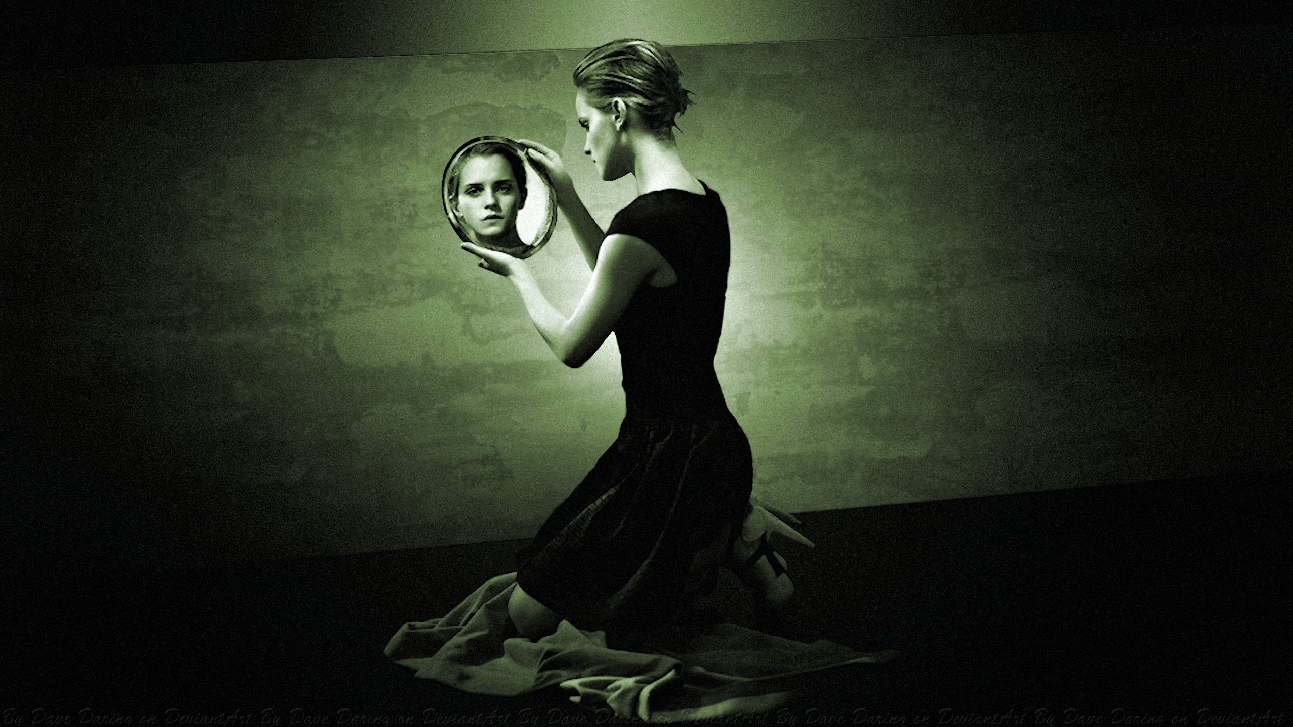 Emma Watson Mirror Mirror 20s Vintage by Dave-Daring