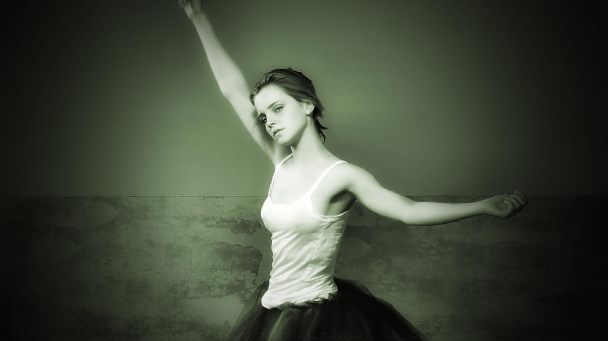 Emma Watson Face the Music + Dance II Vintage by Dave-Daring