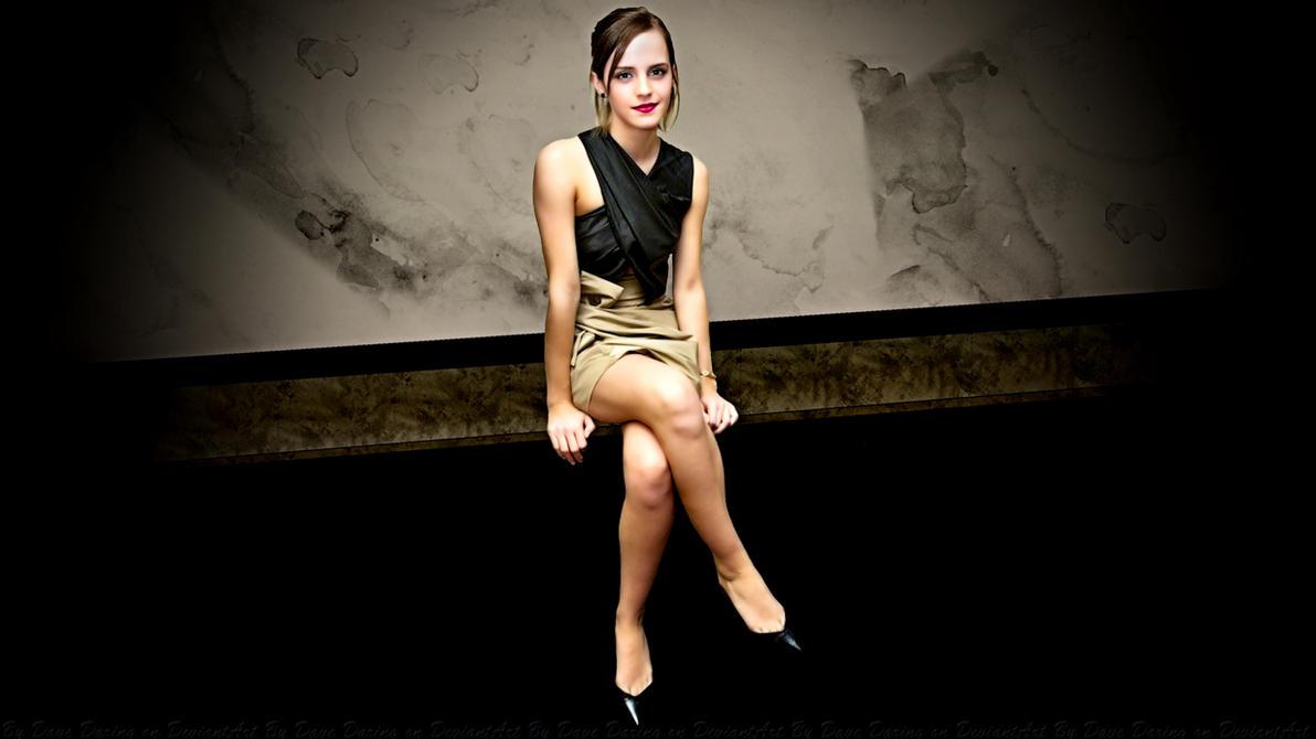 Emma Watson Pose by Dave-Daring