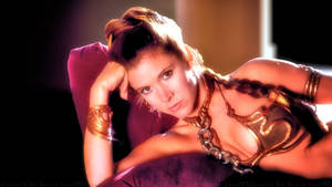 Carrie Fisher Leia Slave Girl IV