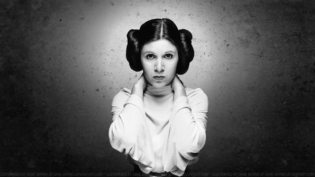 Carrie Fisher  Princess Leia by Dave-Daring