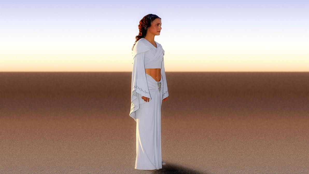 Natalie Portman Padme II by Dave-Daring