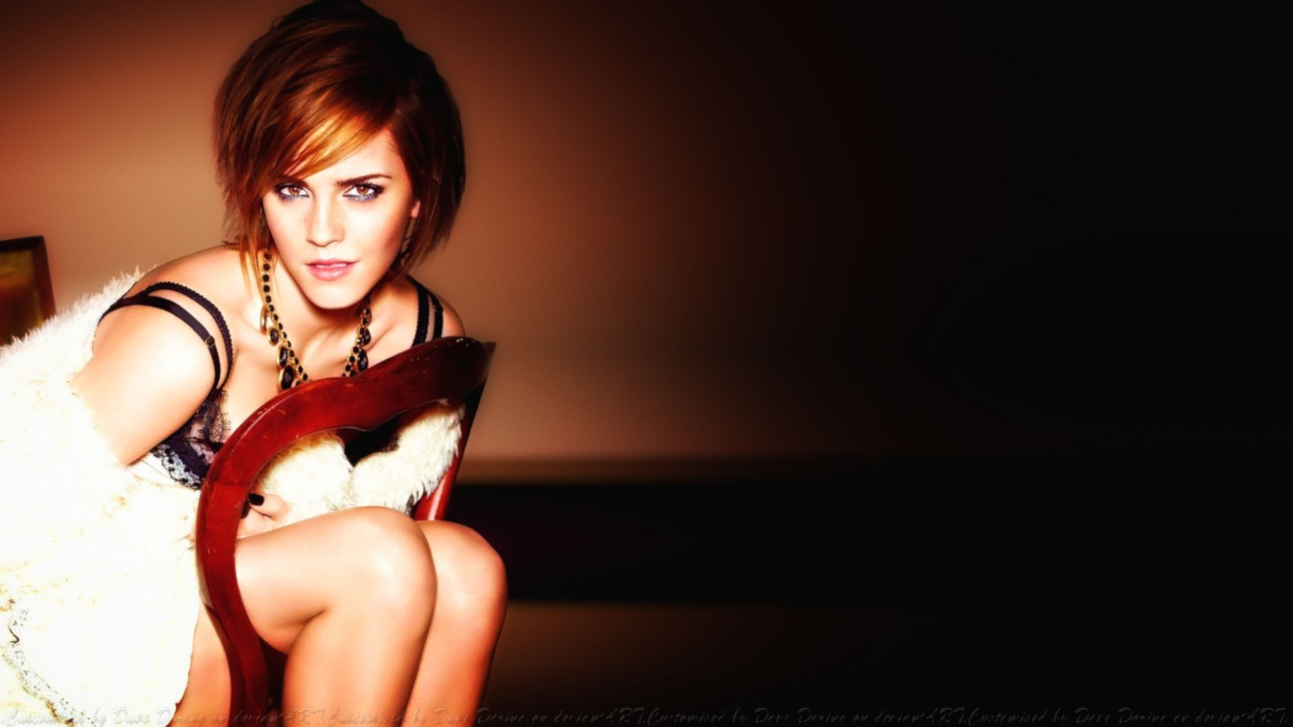Emma Watson It. Glamour by Dave-Daring