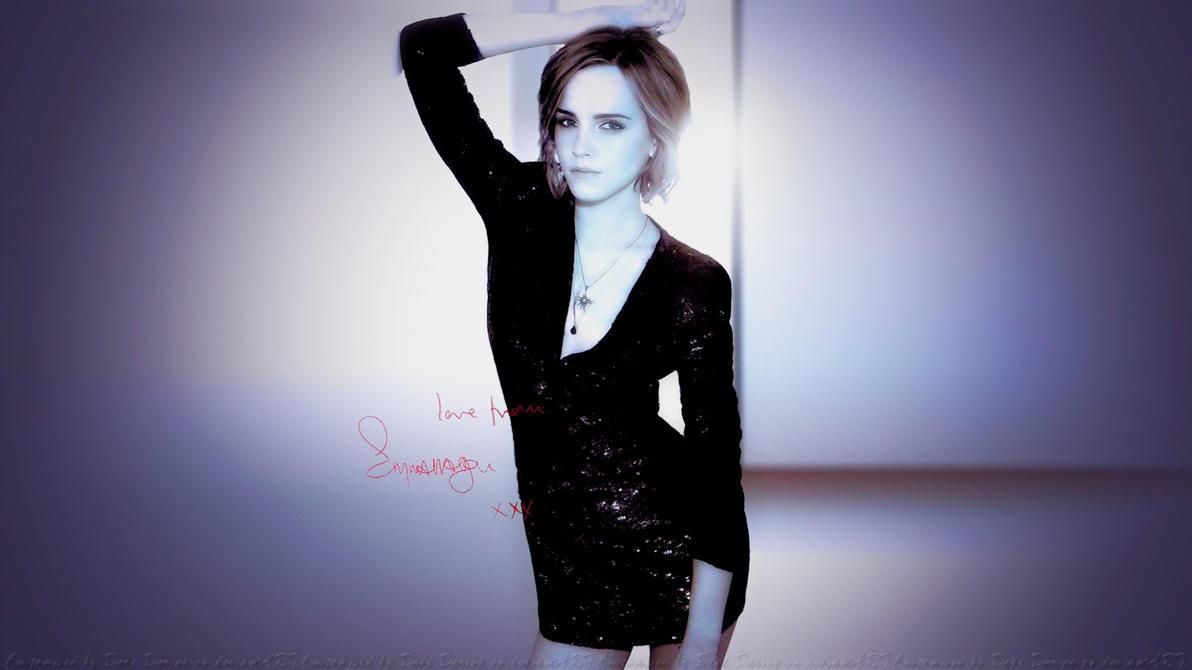 Emma Watson Love by Dave-Daring