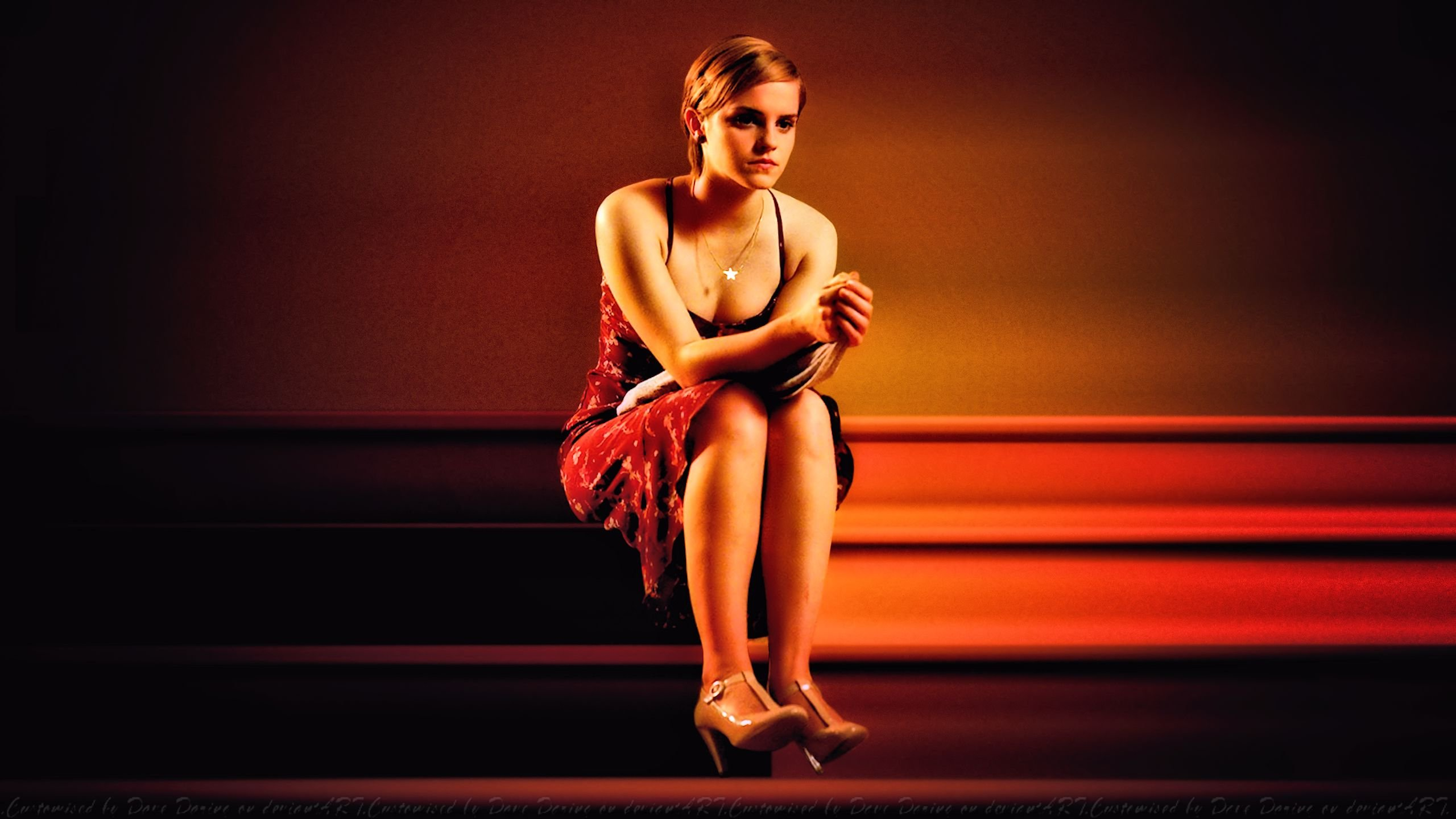 Emma Watson Wallflower Stairs by Dave-Daring