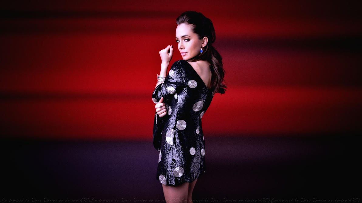 Eliza Dushku Red Sky II by Dave-Daring