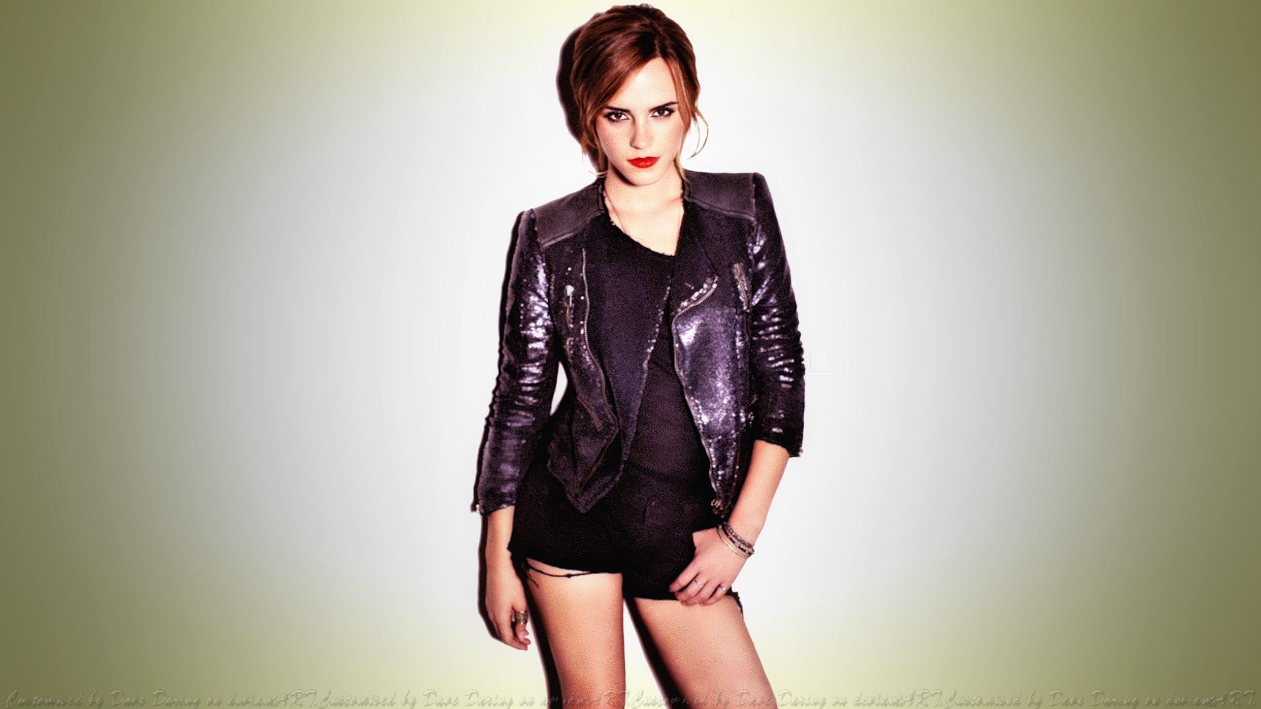 Emma Watson Short Shorts by Dave-Daring