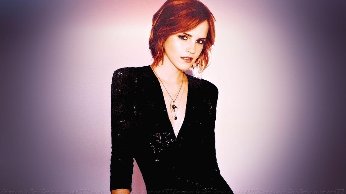 Emma Watson Vibrant by Dave-Daring