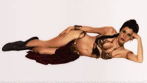 Carrie Fisher Slave Girl Princess