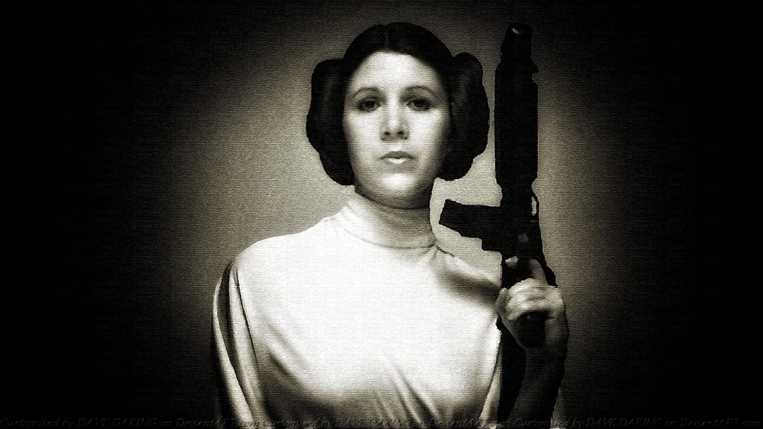 Carrie Fisher Princess Leia XV by Dave-Daring