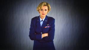 Amanda Tapping Captain Carter