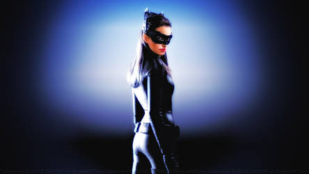 Anne Hathaway Catwoman by Dave-Daring