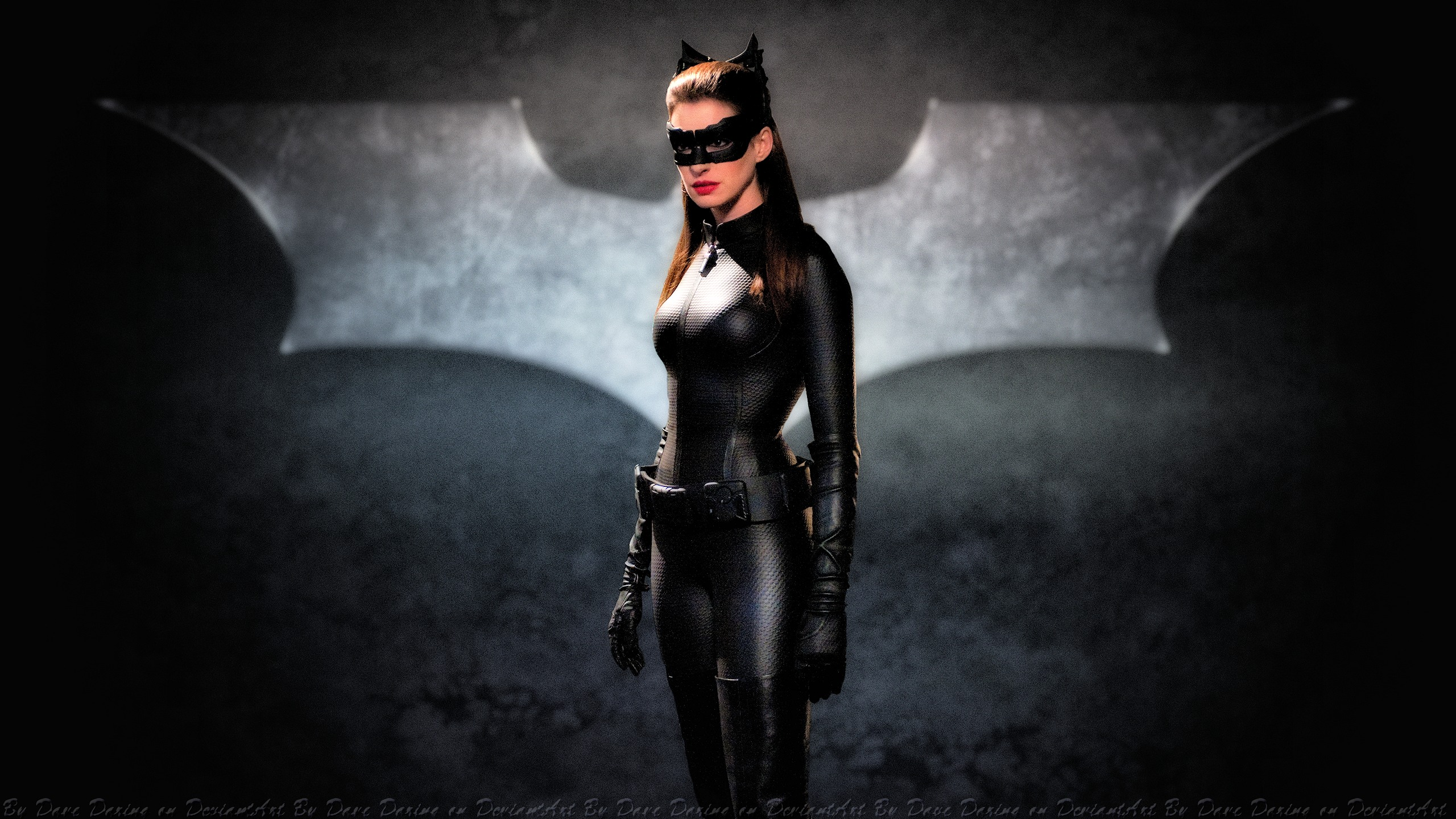 Anne Hathaway Catwoman II by DaveDaring on DeviantArt