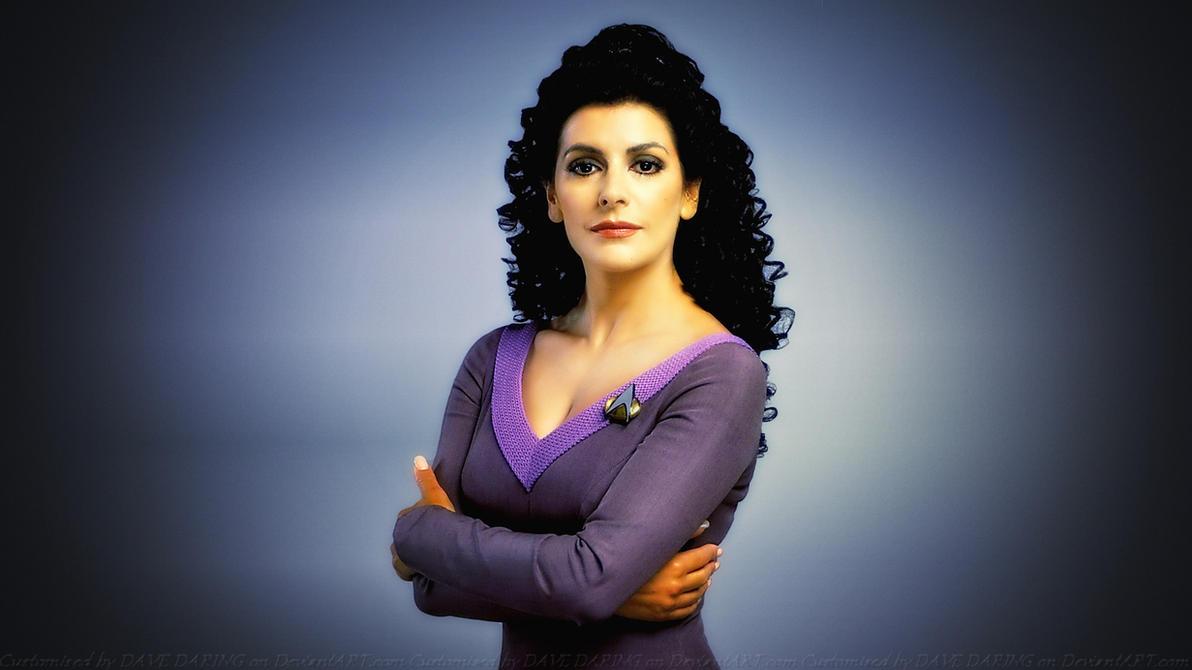 Marina sirtis aka counselor deanna troi - 2 part 4