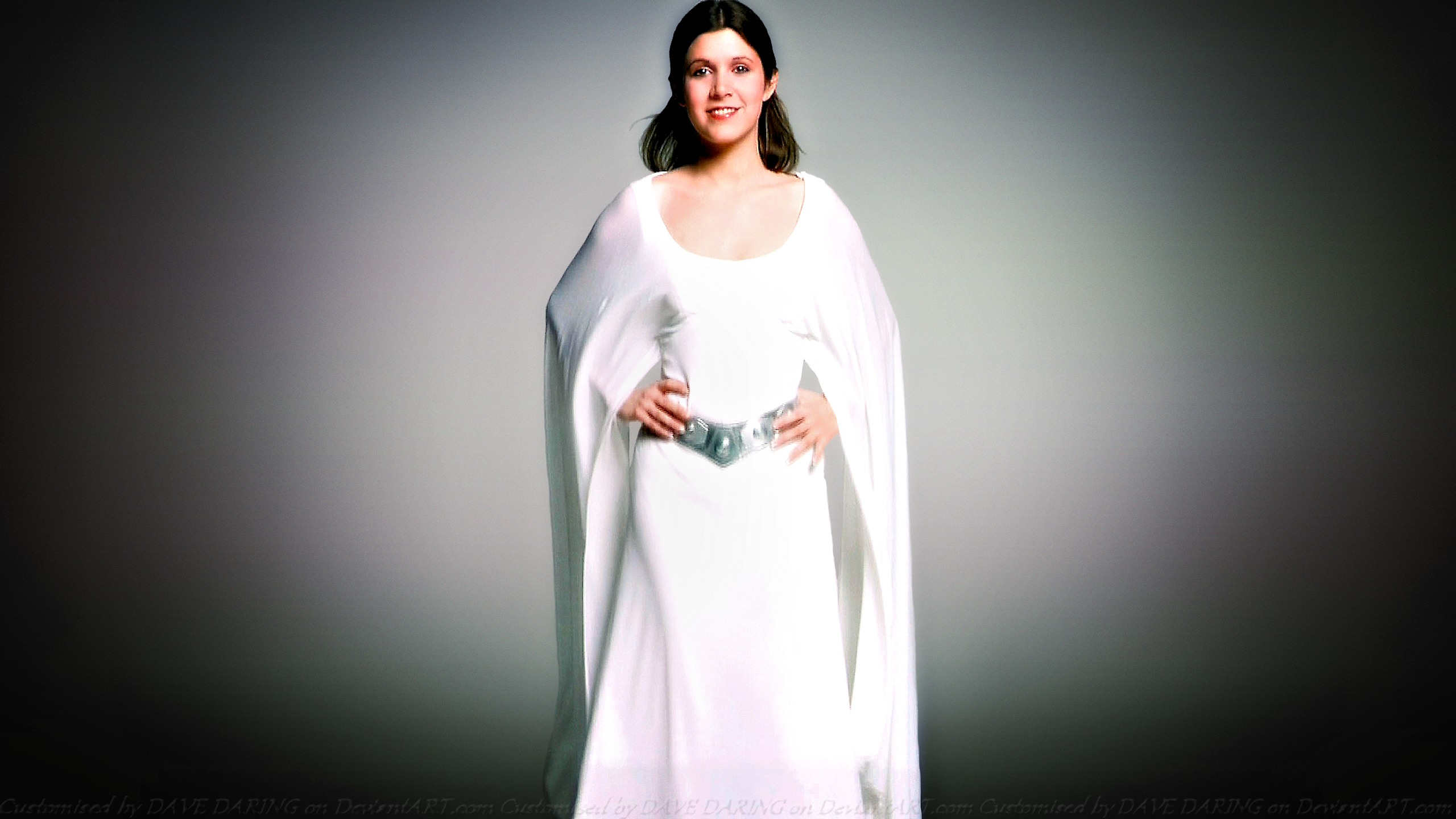 Carrie Fisher Princess Leia XVIII by Dave-Daring