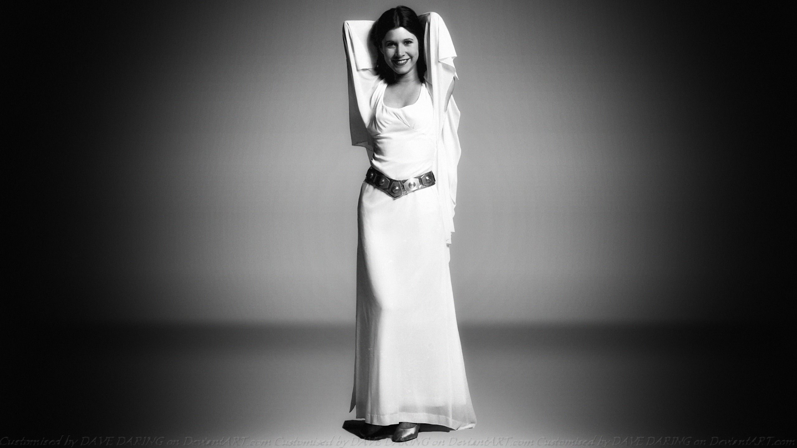 Carrie Fisher Princess Leia XIX by Dave-Daring