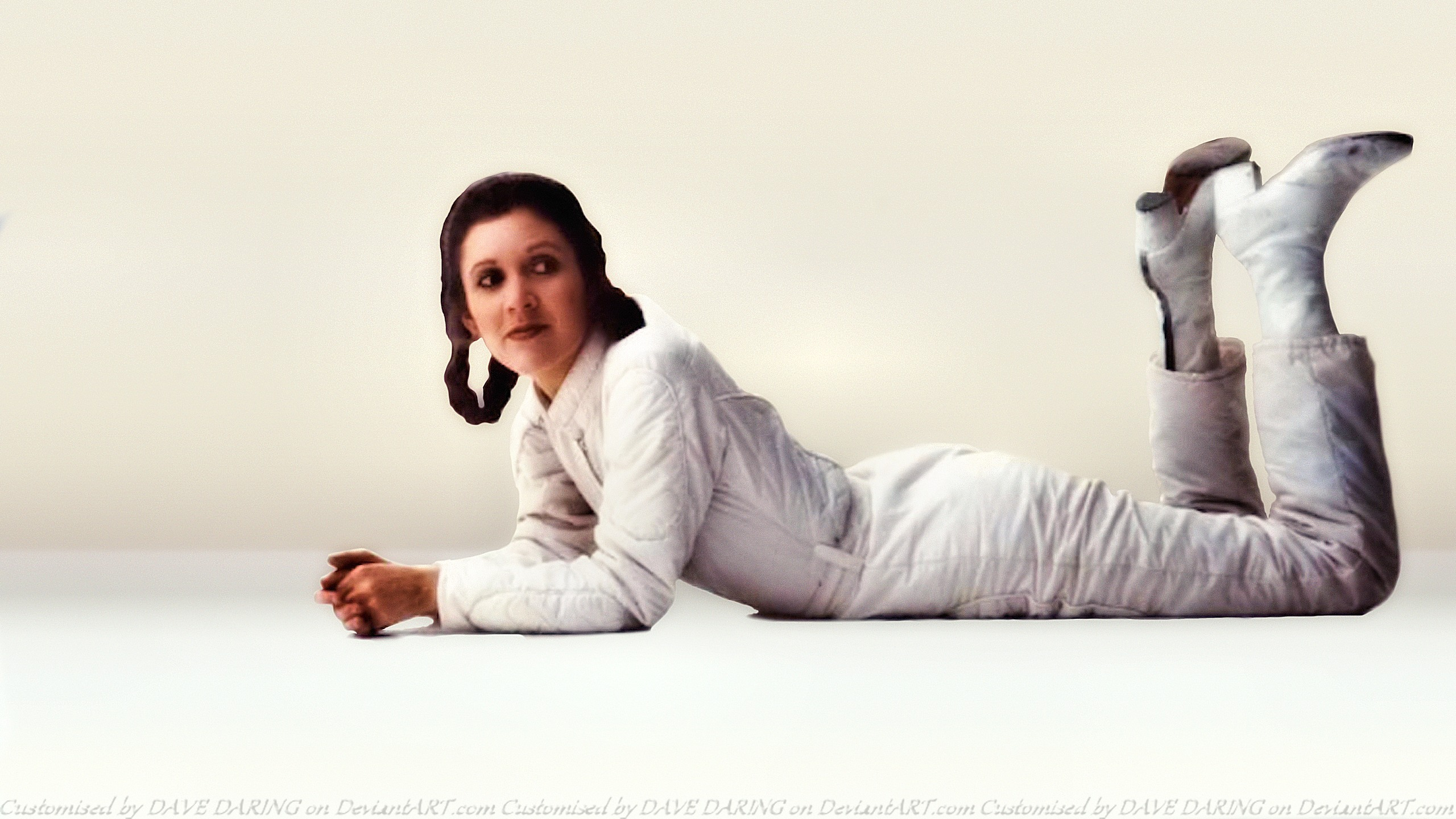 Carrie Fisher Princess Leia XXI by Dave-Daring